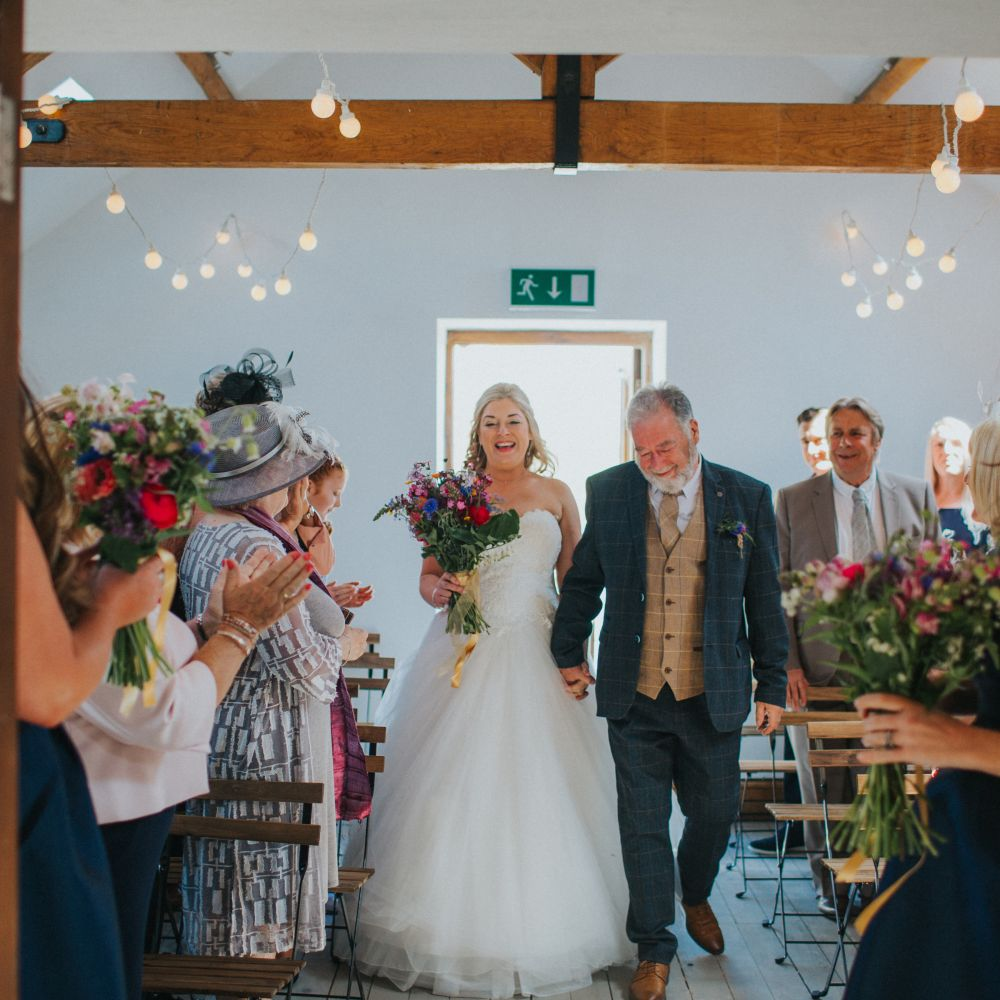 Katie & Matt, tipi wedding